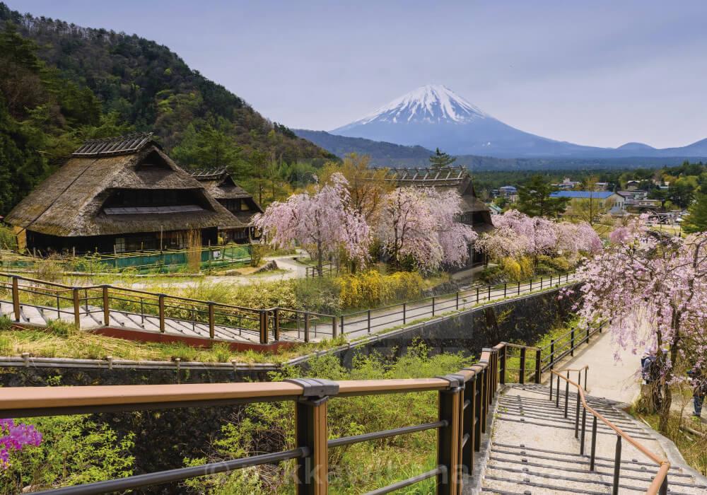 Uno de los pueblos pintorescos más lindos de Japón.
