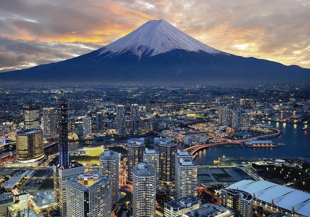 Panorámica de Japón.