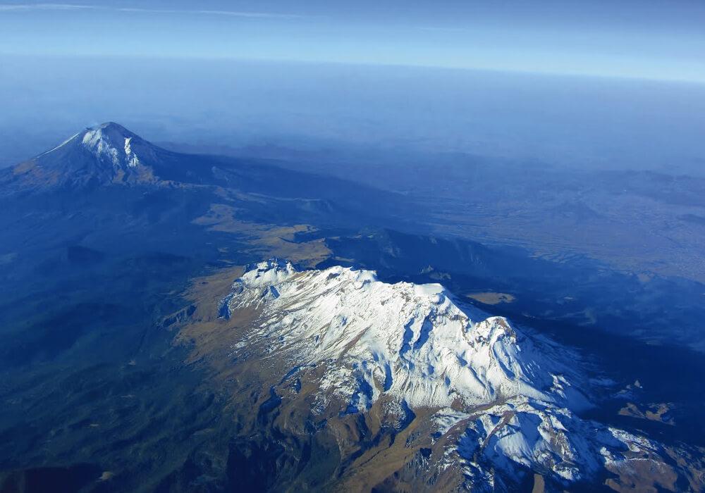 Volcán del Popocatepetl, Iztaccihuatl