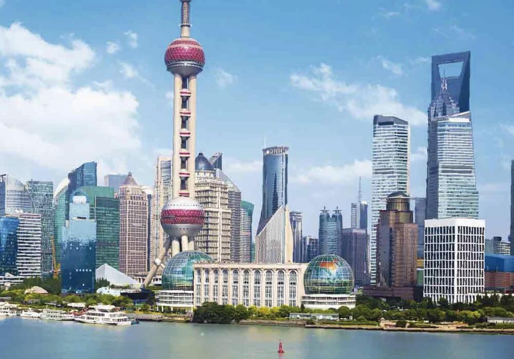 Ciudad con atracciones familiares en China.