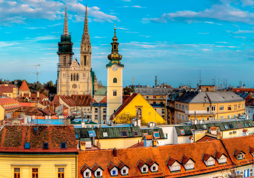 Esta es la capital de Croacia.