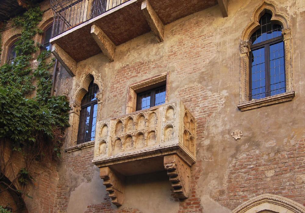 La famosa casa de Julieta, protagonista de una de las mejores historias de amor de todos los tiempos.