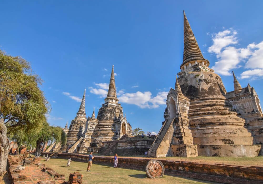 Capital de Tailandia.