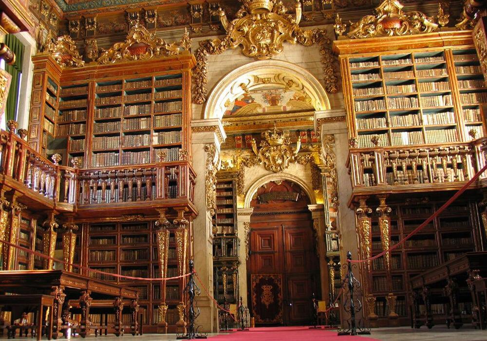 Una de las bibliotecas más hermosas del mundo.