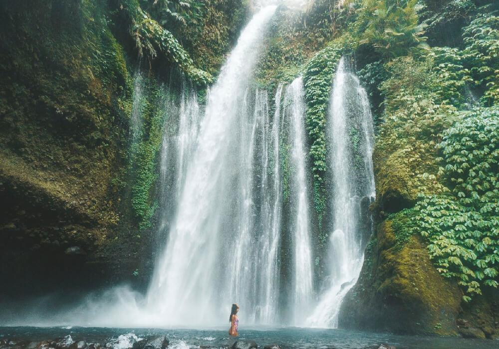 Un paisaje natural realmente maravilloso.