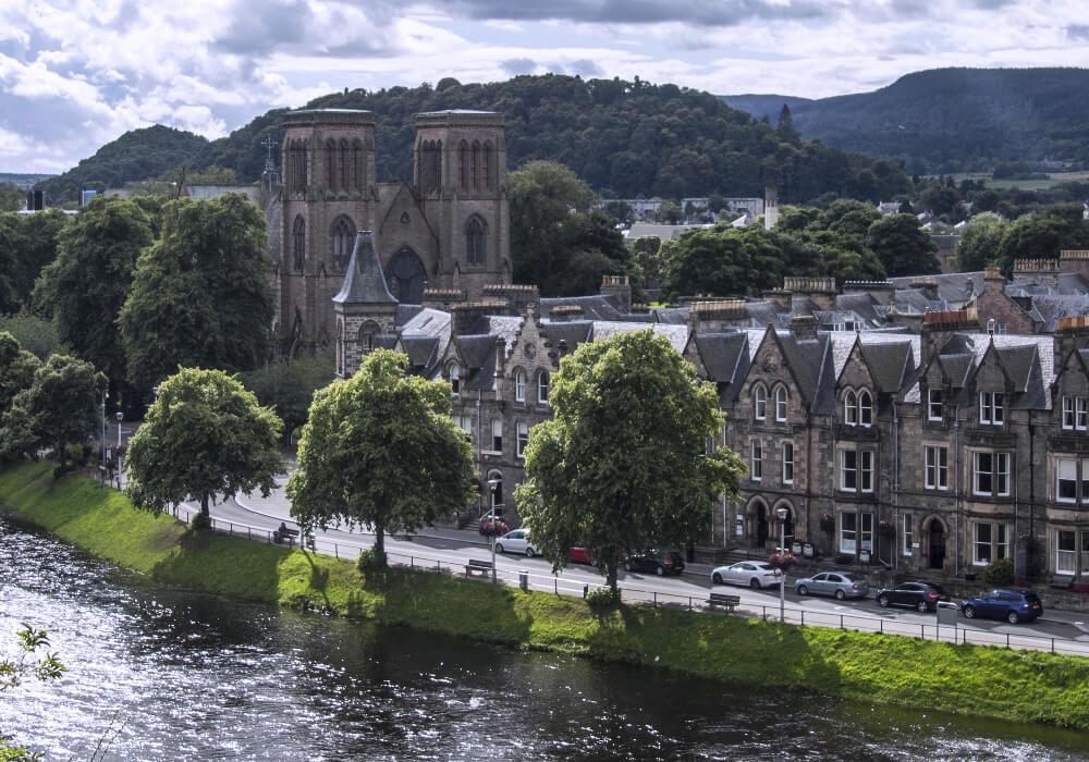 La Catedral forma parte de el conjunto de edificios históricos.