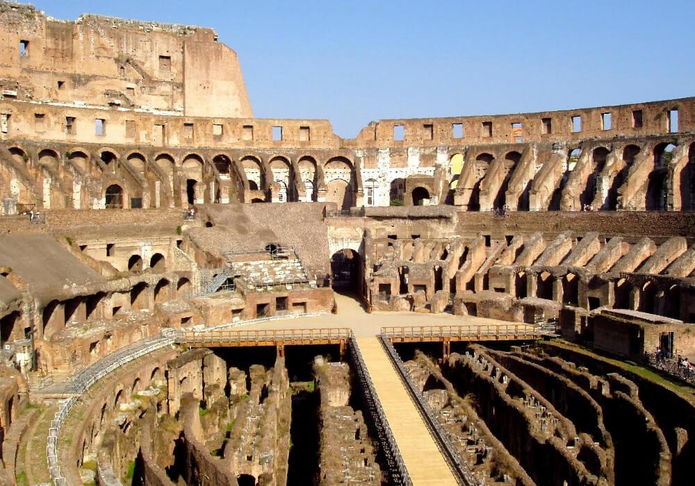 Anfiteatro del Imperio Romano.