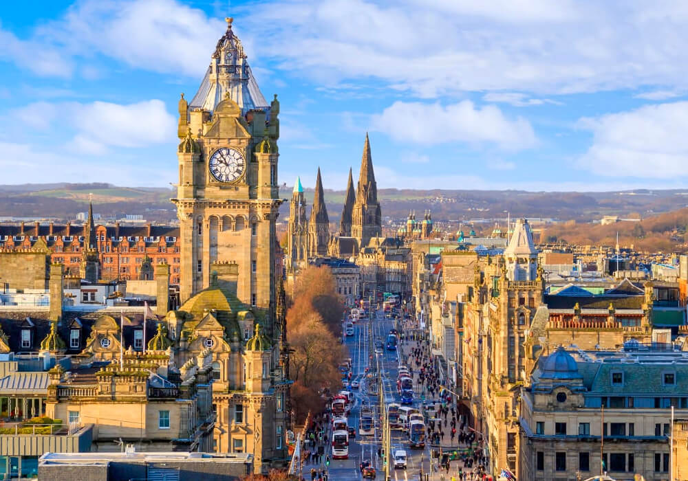 Capital Montañosa de Escocia.