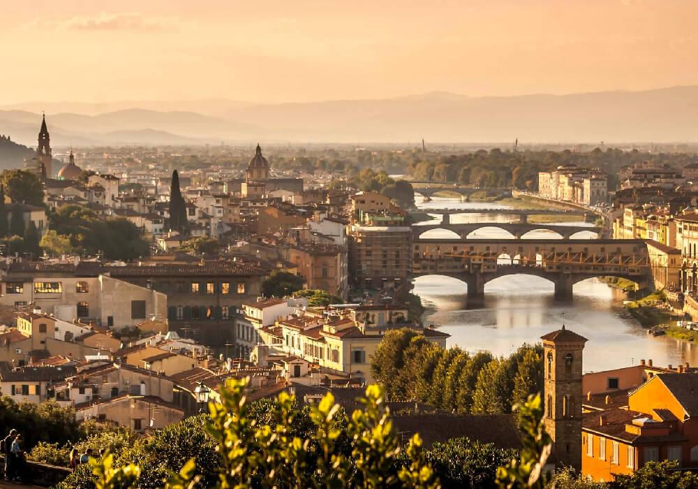 Capital de la Región Toscana en Italia.