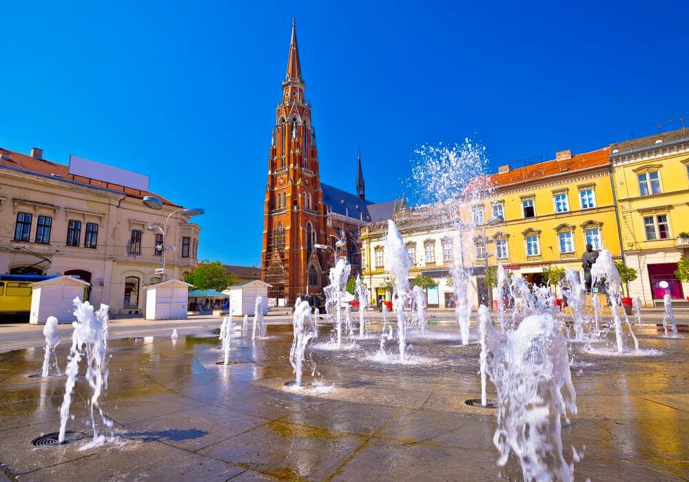 Ésta es la ciudad más grande de Croacia.