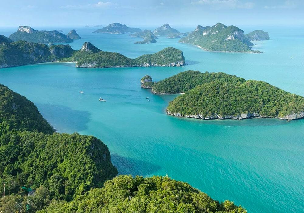Ésta es la segunda Isla más grande de Tailandia.