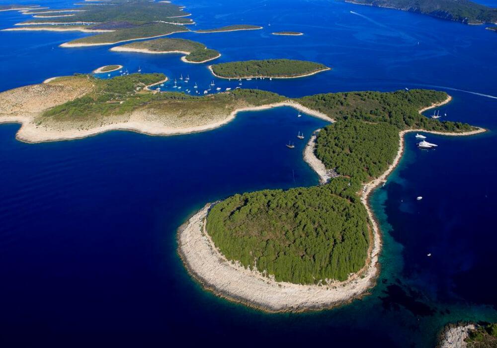Una de las primera playas en practicar el nudismo en Europa.