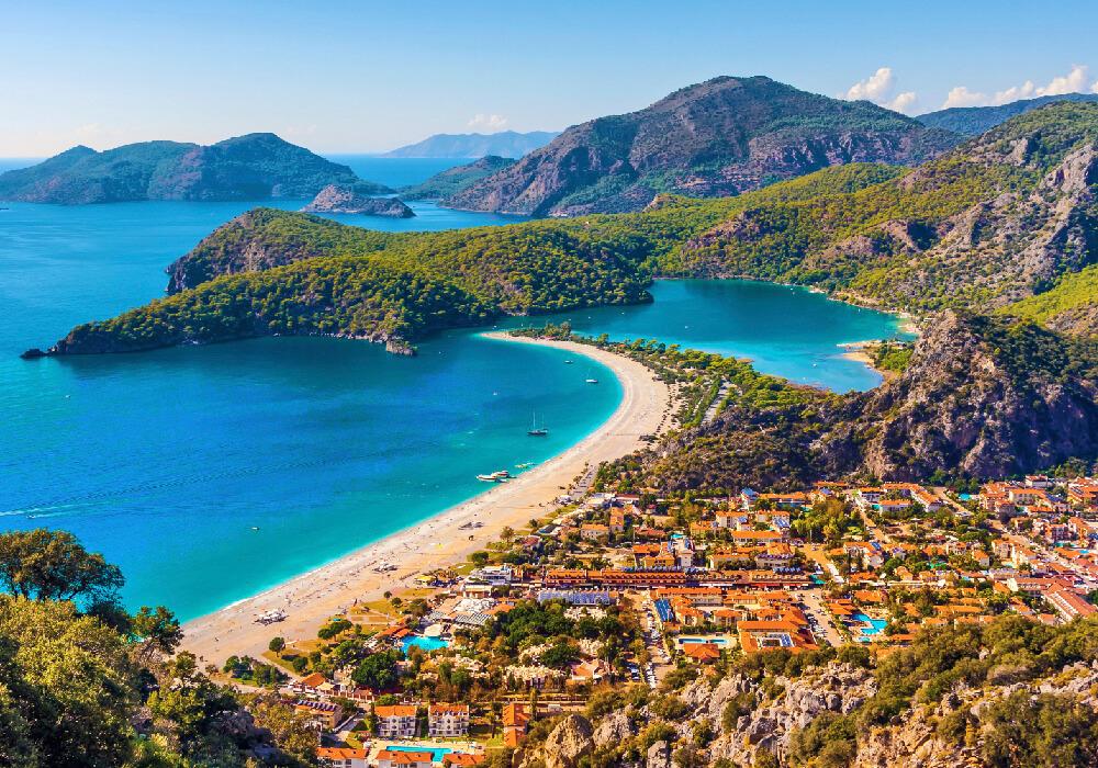 Playas como las de Turquía son un destino bellísimo.