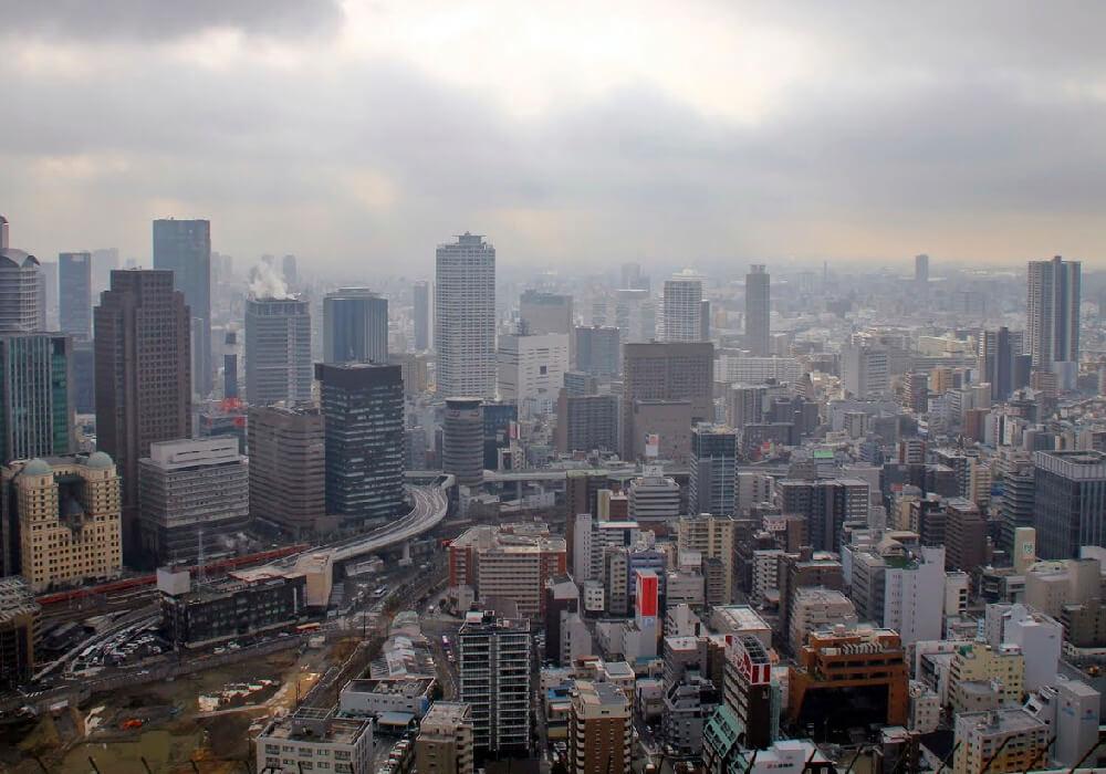 Ciudad Moderna Portuaria de Osaka.