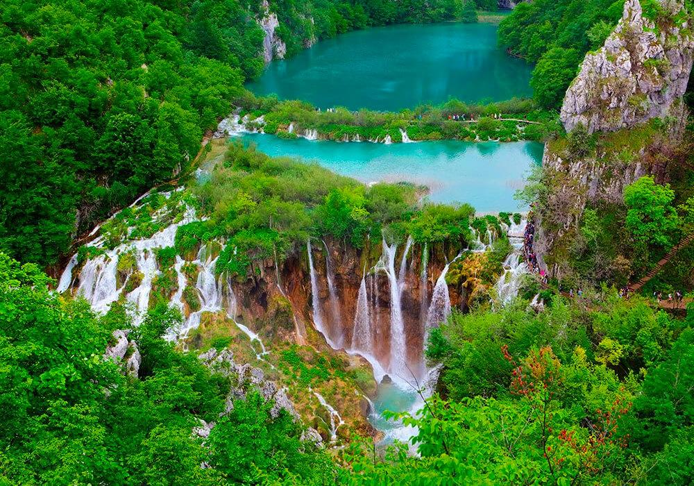 Reserva Forestal en el centro de Croacia.