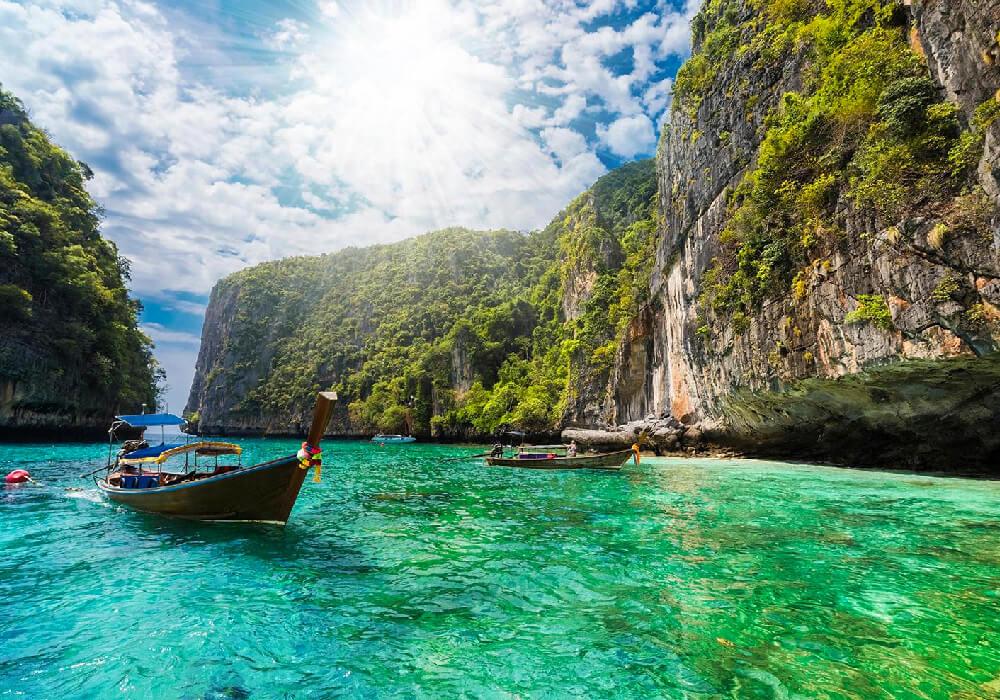 Las fronteras de Phuket no son terrestres.