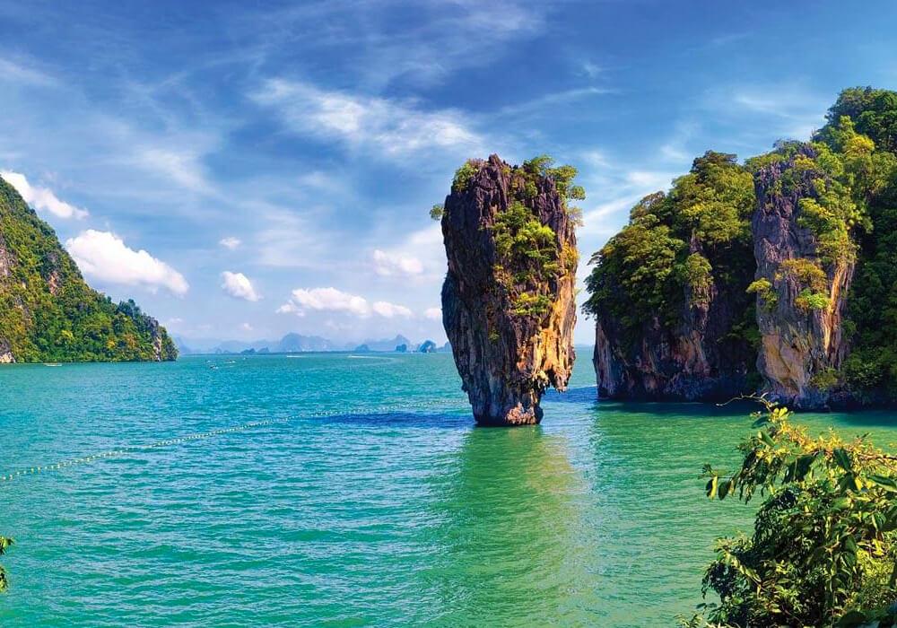 Una de las Islas más hermosas de Tailandia.