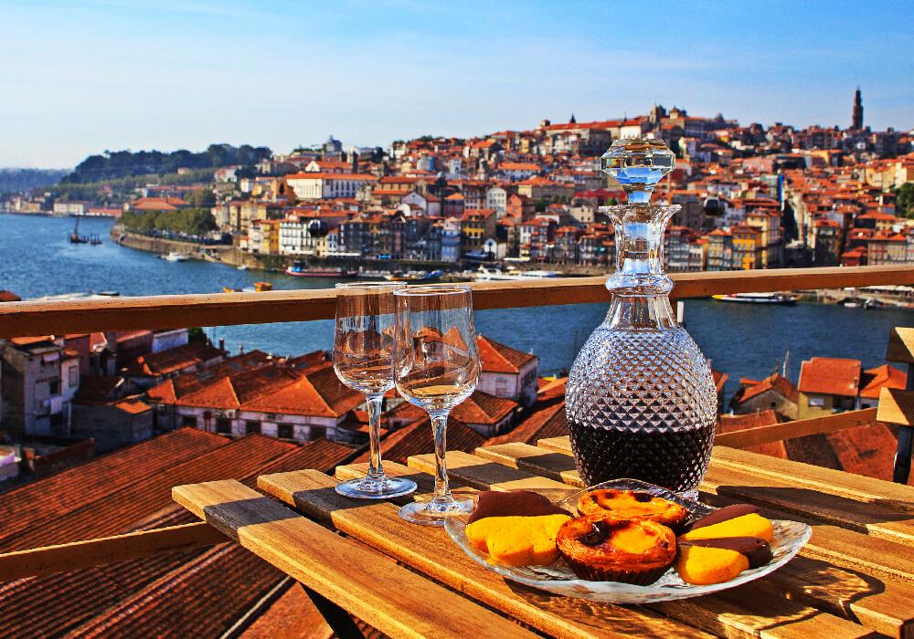 Muchos de los restaurantes de Oporto tienen vistas únicas.