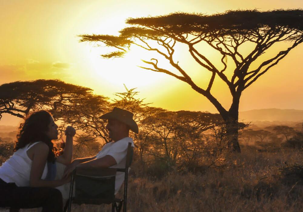 Los Safaris se están haciendo cada vez más populares como destino de luna de miel.