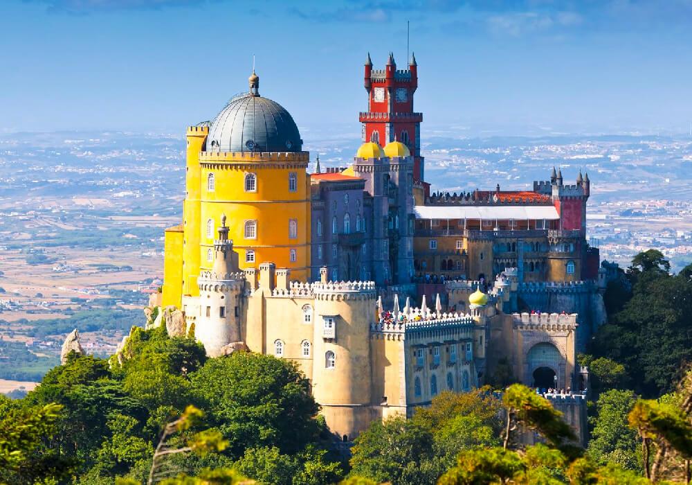 Fue una de las principales residencias en dónde vivió la familia real portuguesa.