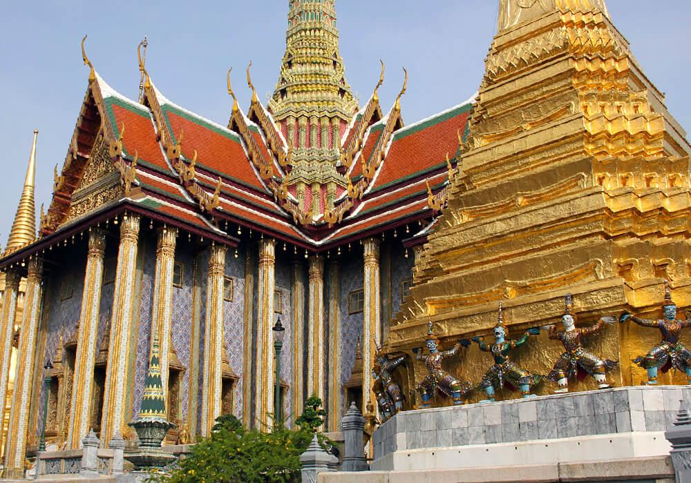 Este Palacio sirvió de residencia oficial para el Rey de Tailandia hasta medidados del siglo XX.