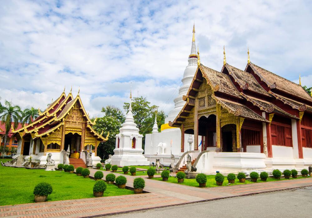 Templo budista al Norte de Tailandia.
