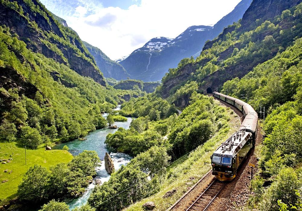 Ésta es una de las principales atracciones de Noruega.