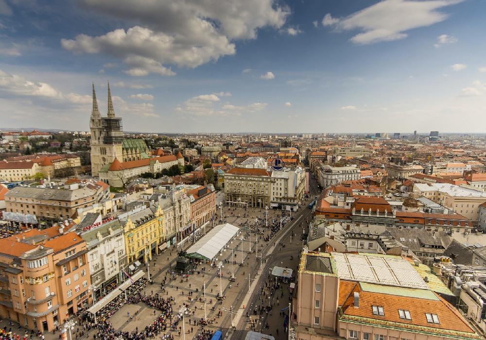 En Zagreb está el funicular más corto del Mundo.