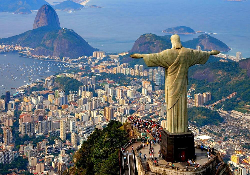 Es uno de los monumentos más famosos de Brasil.