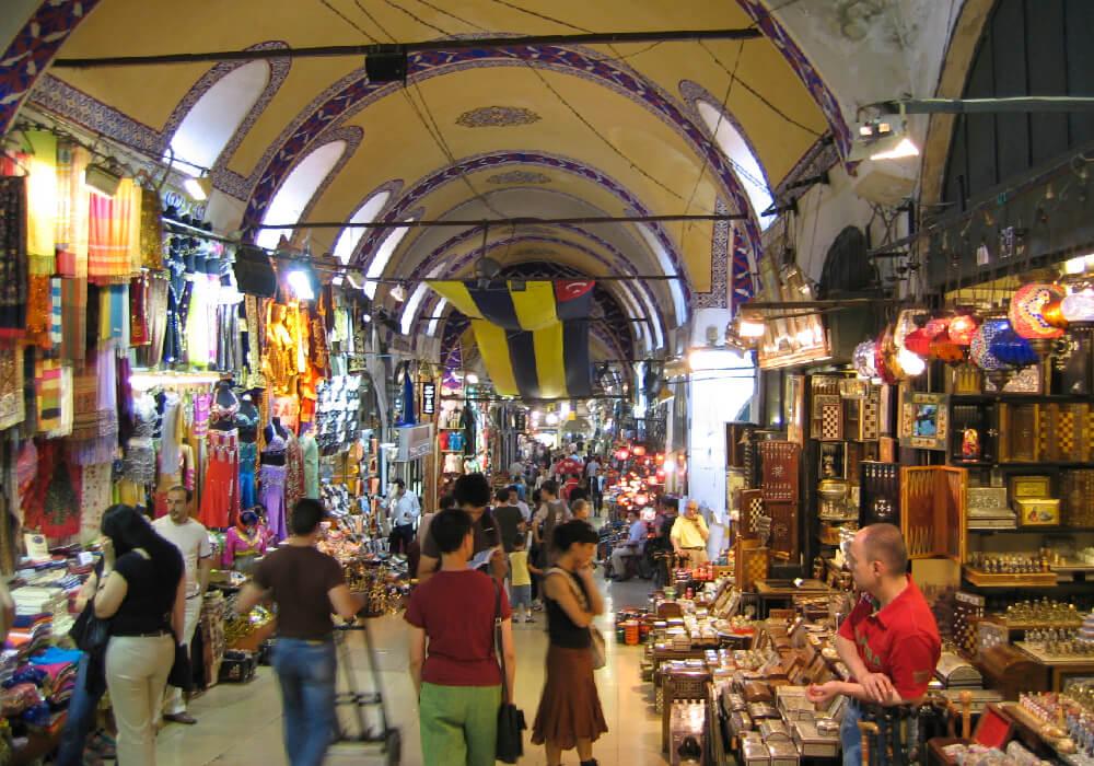 Uno de los bazares más grandes del mundo; y desde luego de la ciudad.