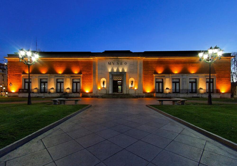 Este museo es uno de los principales del país.