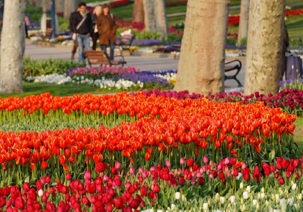 Es un parque urbano que se encuentra a lado del Palacio Topkapi, en el barrio de Eminönü.