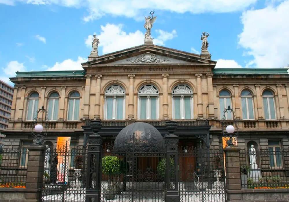 Este es el primer y el principal teatro de Costa Rica.