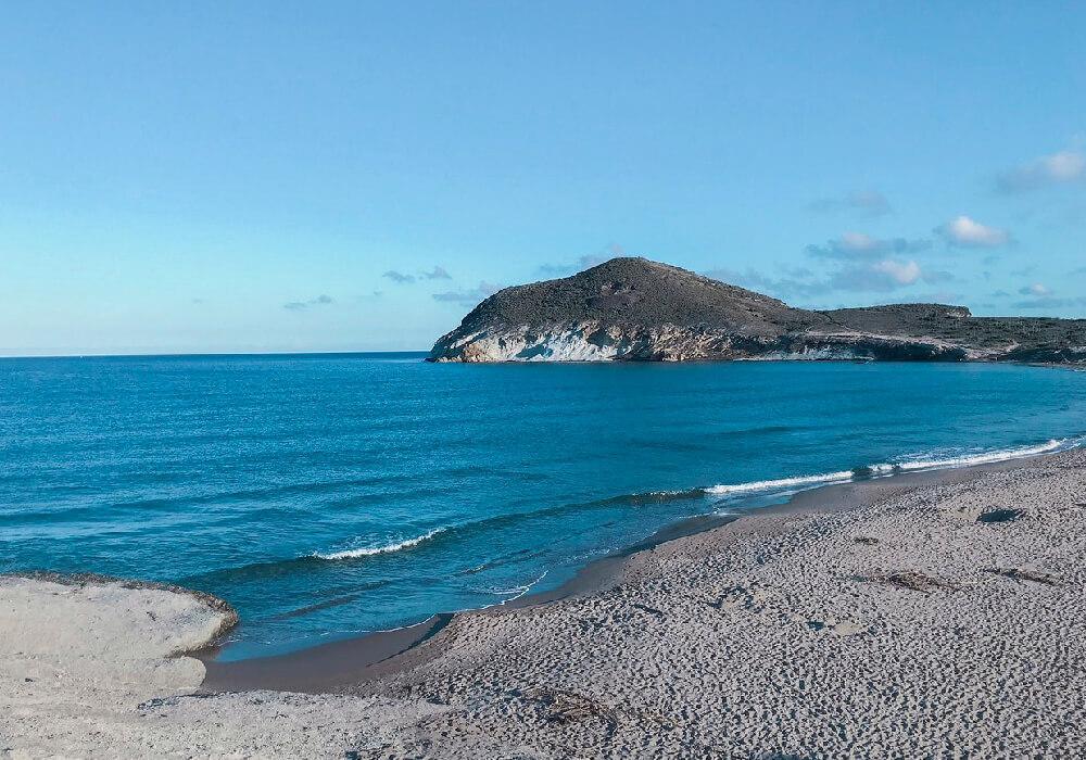 Es una de las playas que conservan su belleza en el estado más puro.