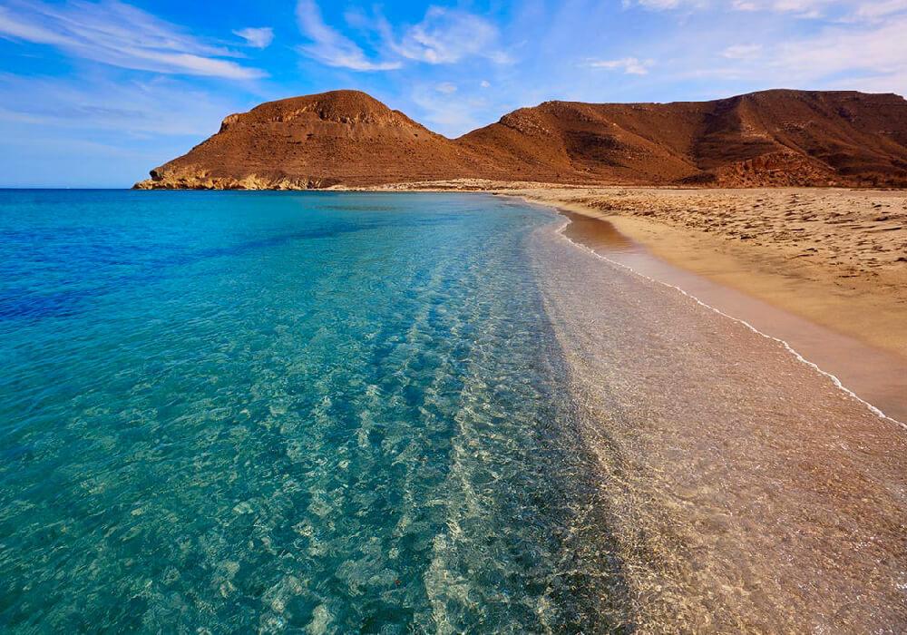 Una de las playas más puras de España.