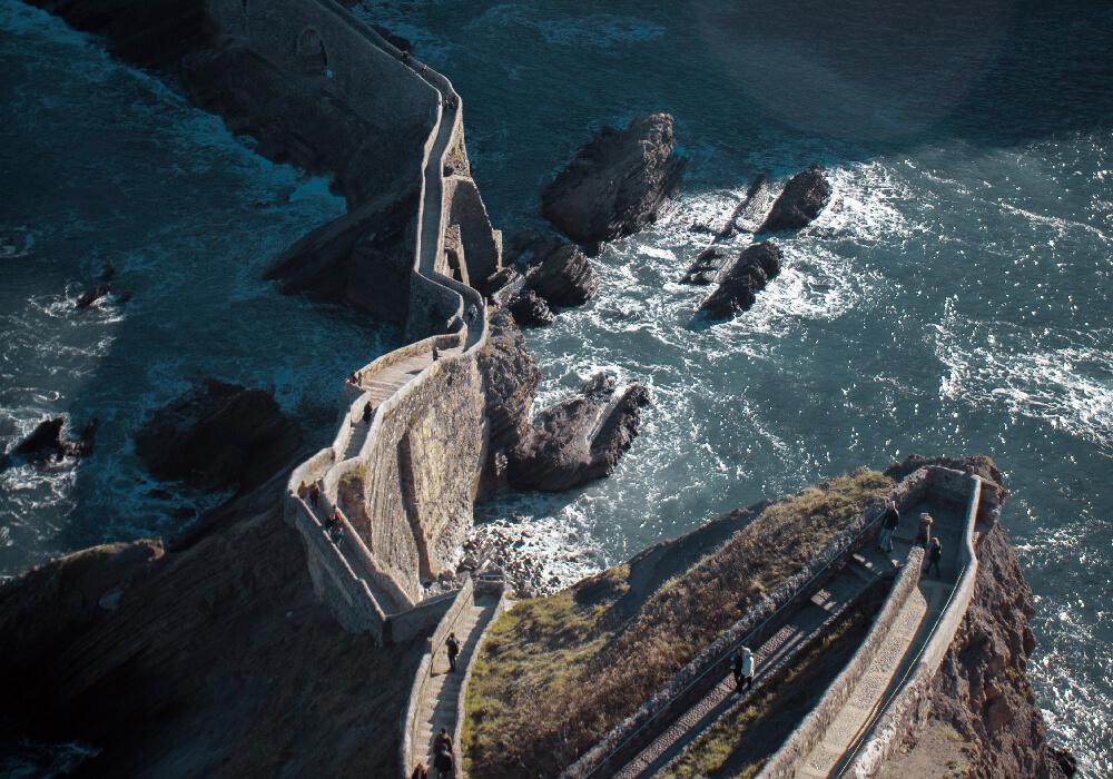 El País Vasco es reconocido por sus hermosos acantilados y espectaculares vistas.