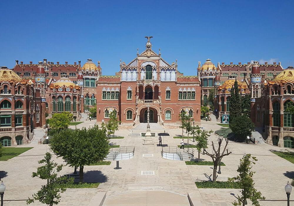hospital sant pau cataluña unesco