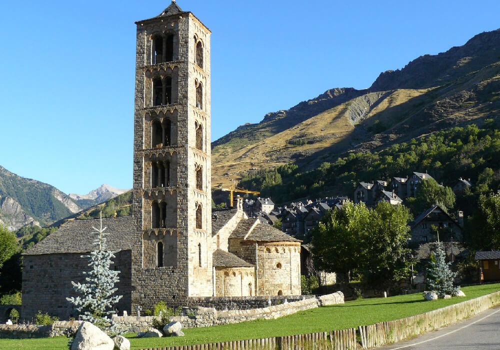 Panorámica conjunto Iglesias Romanicas España Unesco