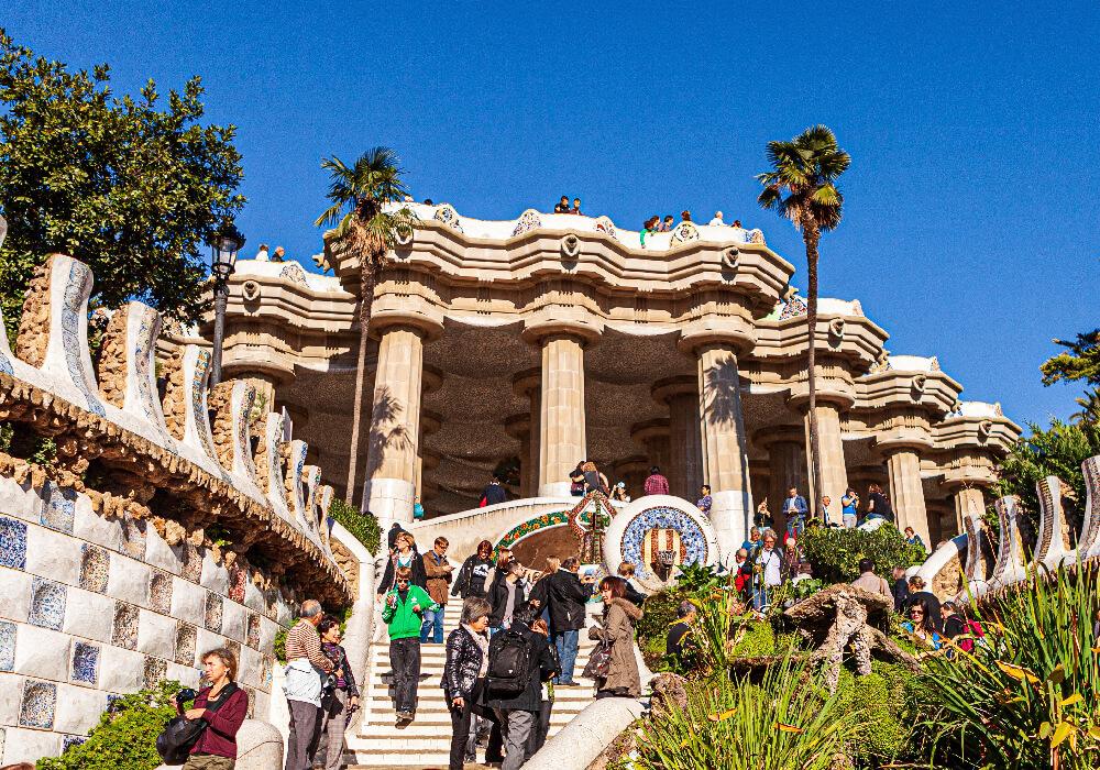 Unesco Barcelona Parque Güell