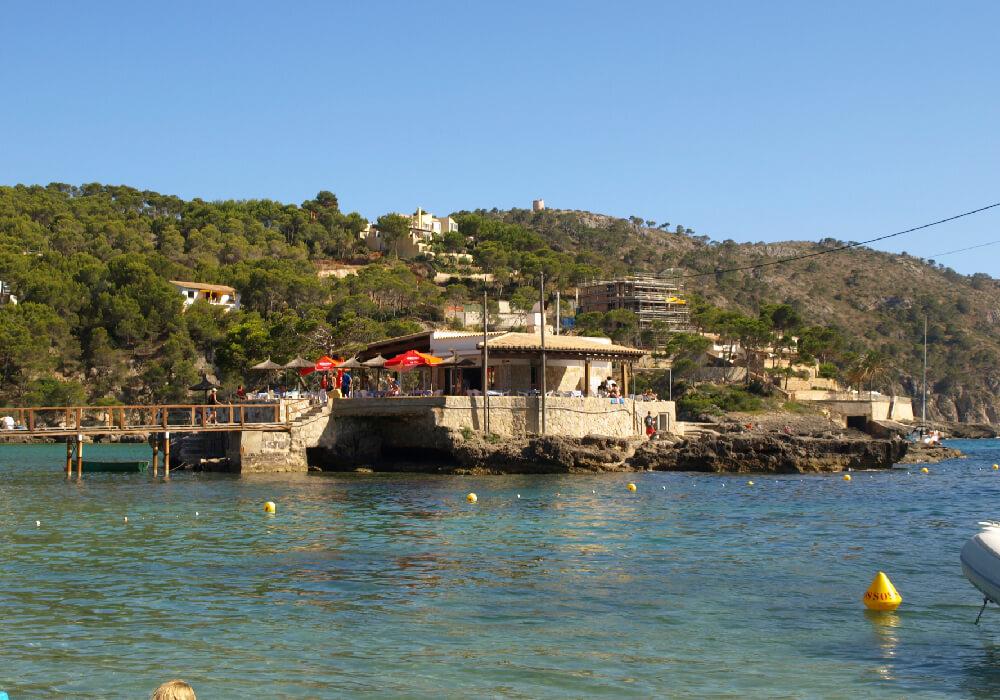 Camp de Mar en Andratx, Mallorca.