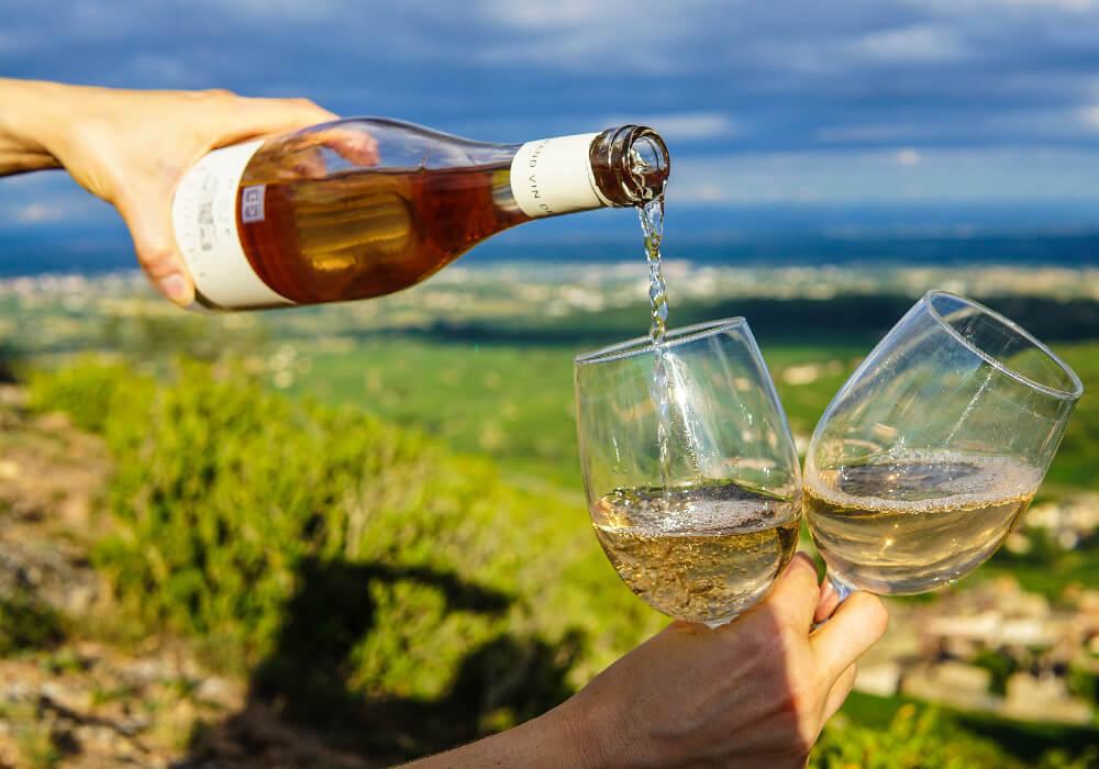 En la ruta del vino de Castilla y León puedes disfrutar no sólo del vino, si no también del paisaje.