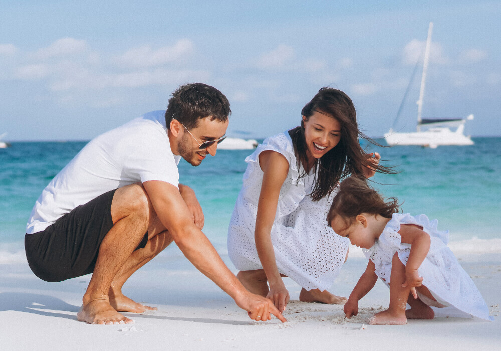 Familia con niños en Mallorca, Escapada familiar.
