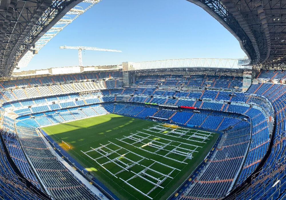 Por dentro y por fuera el Santiago Bernabéu tiene una belleza inigualable.