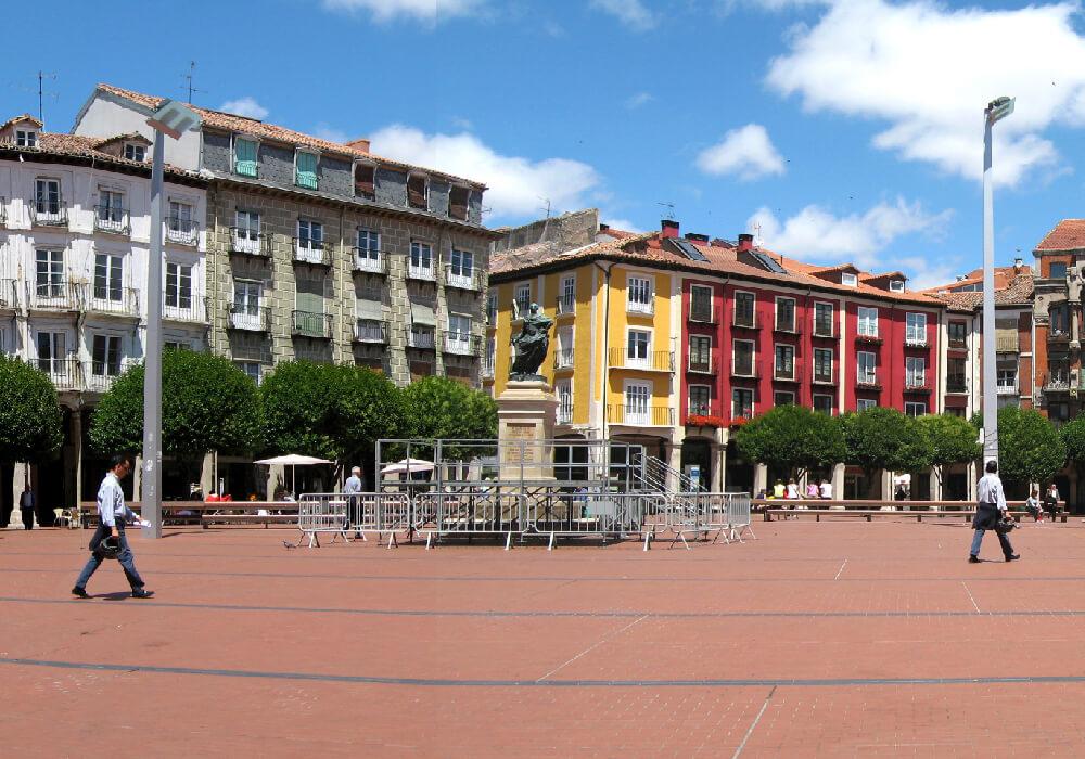 Ésta plaza es ideal para descansar de tu recorrido por esta ciudad.