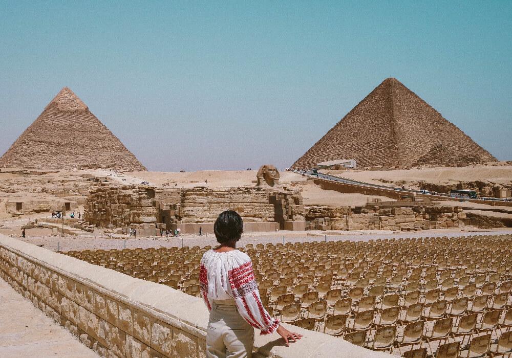 Pirámides de Egipto maravillas del mundo, no pasan de moda.
