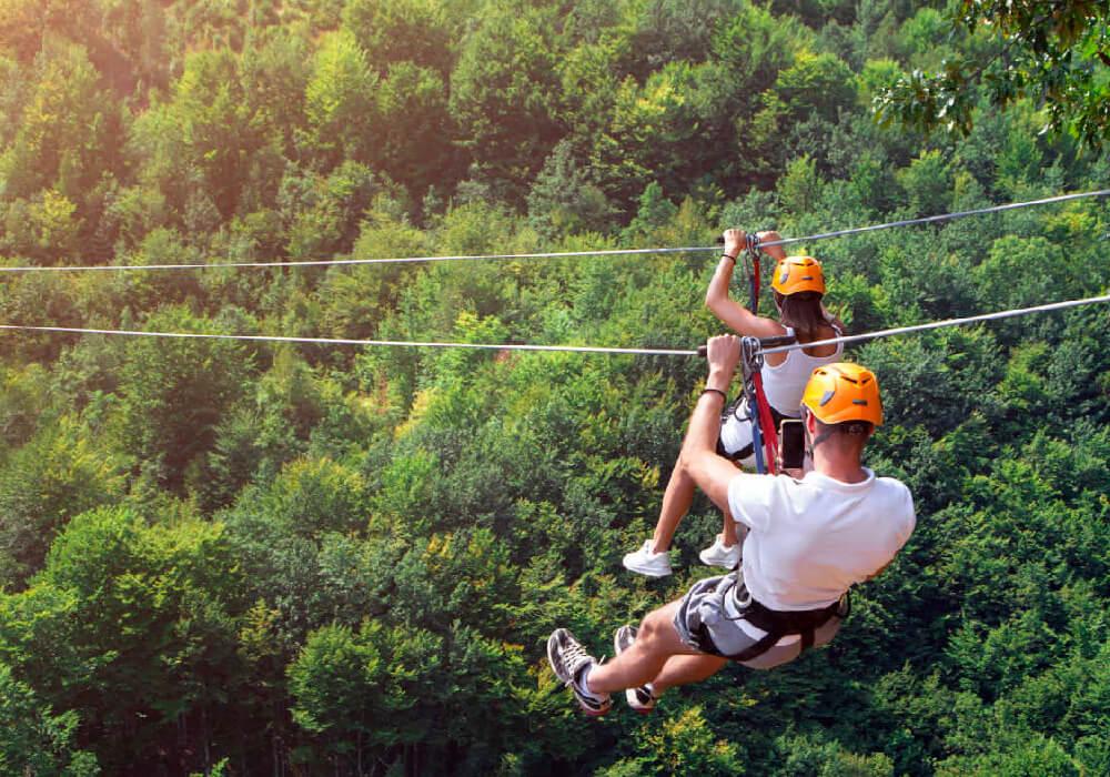 Un parque lleno de aventura extrema para todos los aventureros familia y amigos.