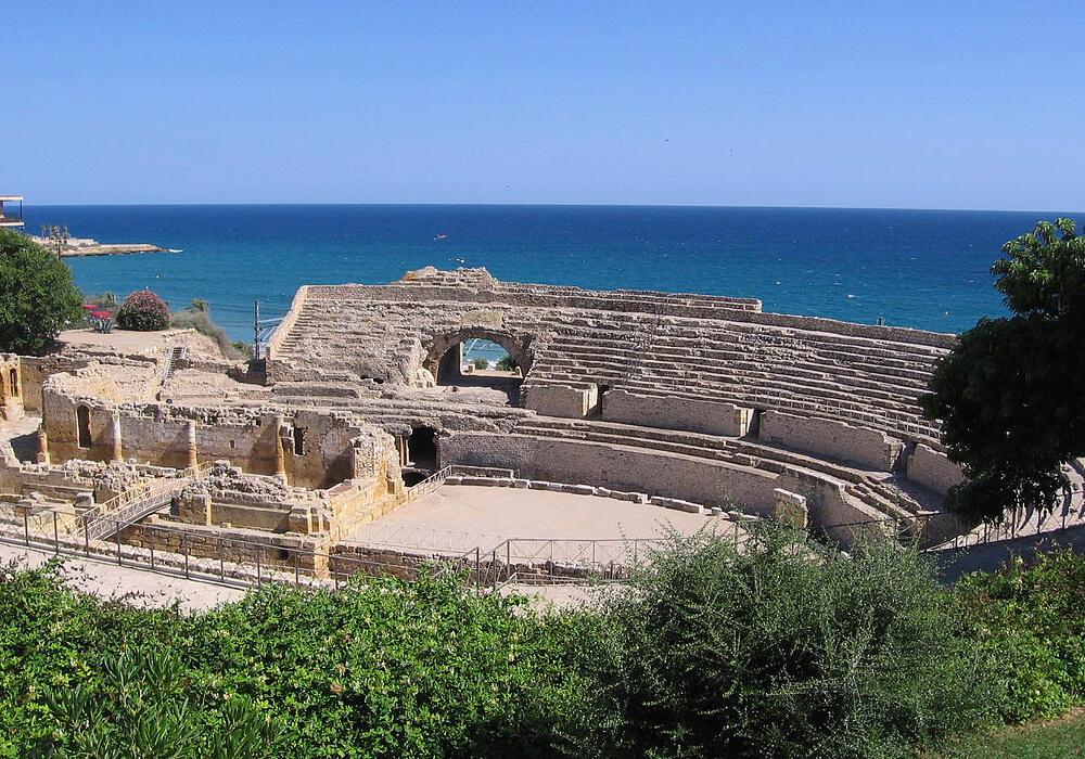 El Anfiteatro es de los mejores lugares para visitar en Tarragona.