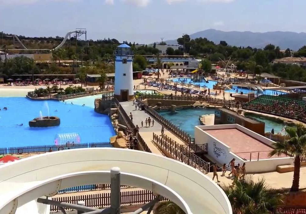 Parque de diversiones acuáticas en ese fin de semana en la Comunidad Valenciana.