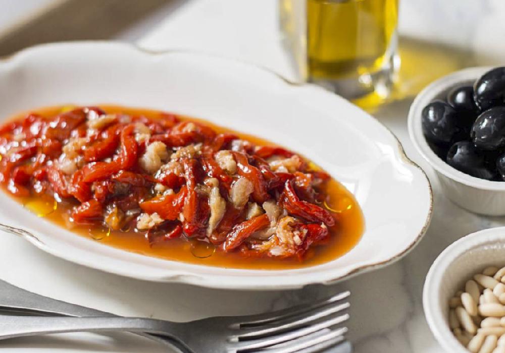 Otra delicia culinaria de Valencia es el esgarraet.