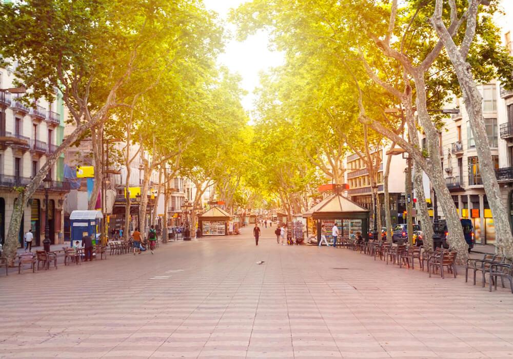 De los paseos más emblemáticos de Barcelona que no puedes perderte, solo en Las Ramblas.